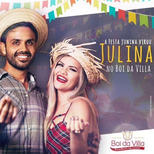 A festa julina no Boi da Villa tem mais sabor!