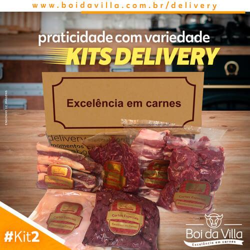 Serviço delivery: Kit 2!