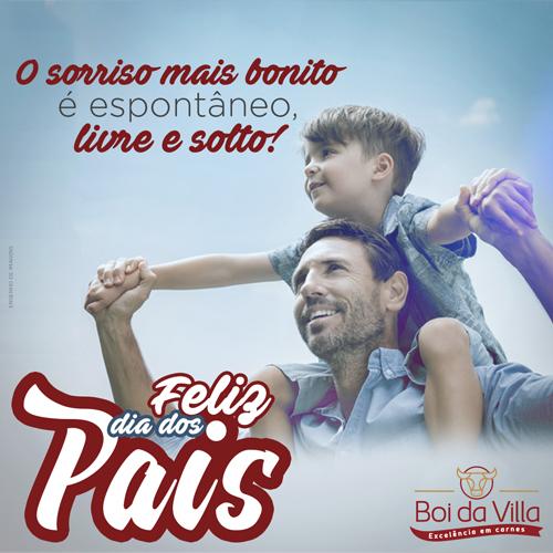 Hoje é dia dos pais!