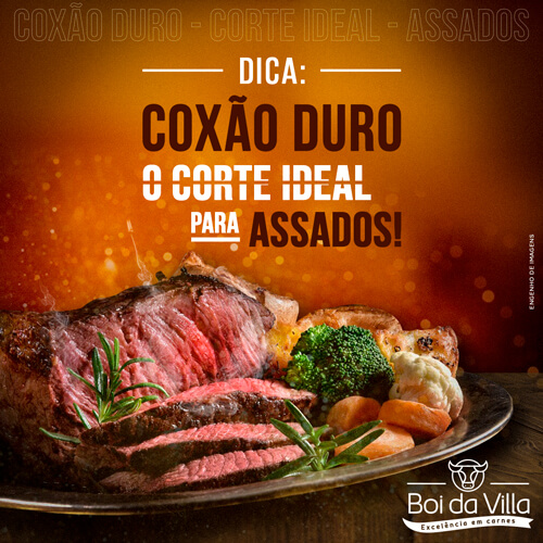Coxão Duro: O corte ideal para assados!