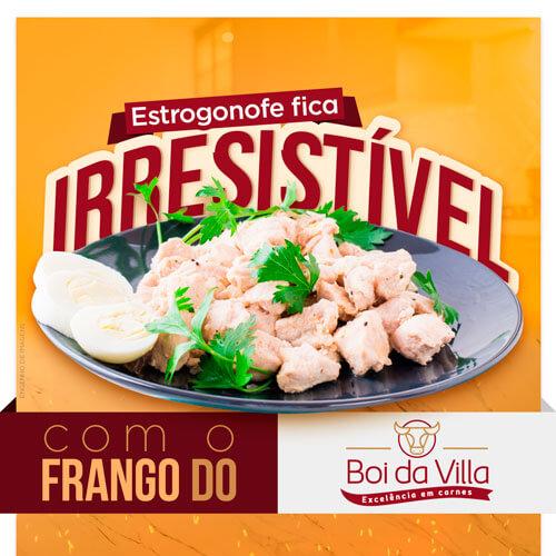 Que tal experimentar um Estrogonofe de Frango?