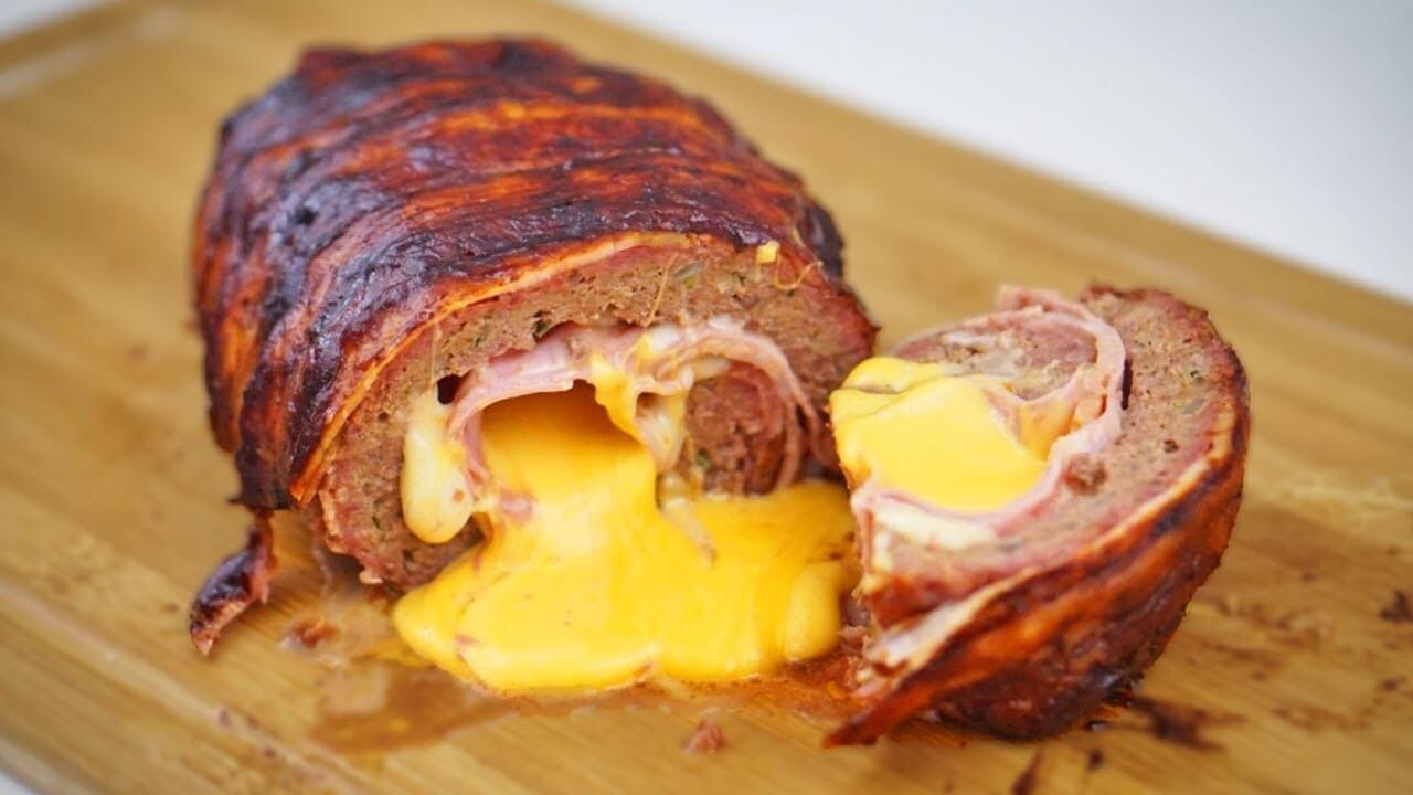 Receita para a semana: Rocambole de carne com bacon
