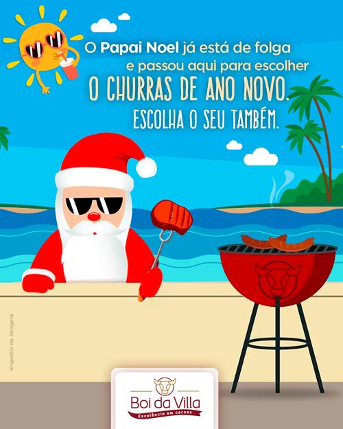 Prepare-se para o churras de Ano Novo!
