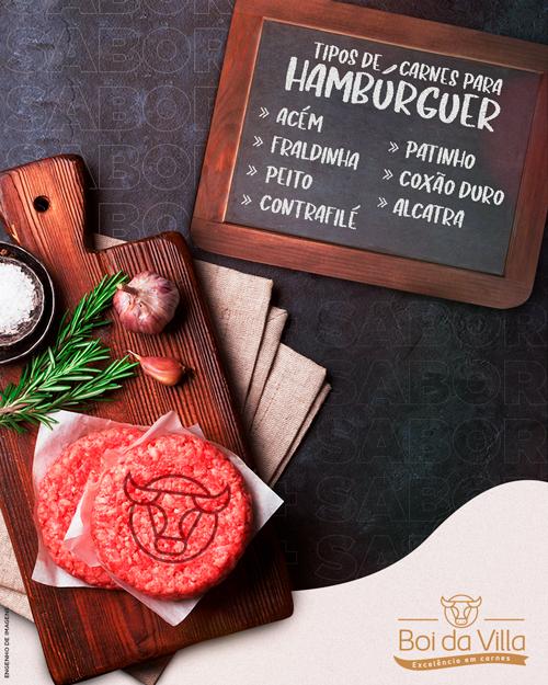 Qual carne usar para fazer hambúrguer?