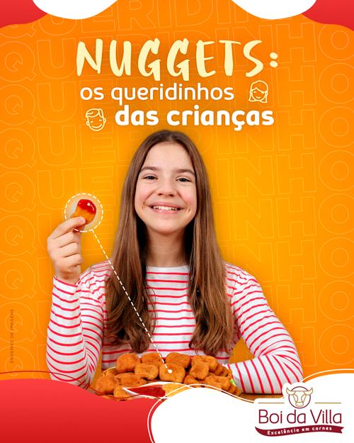 Nuggets: Os queridinhos das crianças!